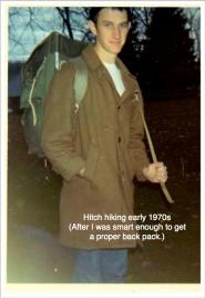 Dean Hitch hiking