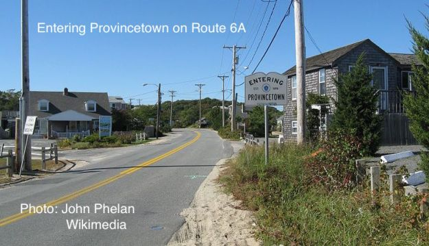 Entering Provincetown w
