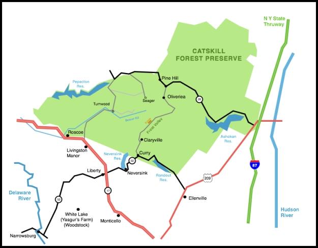 Catskills area