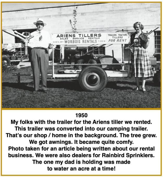 1950 tiller trailer INT